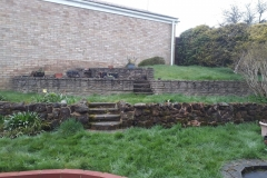 Before Flower Beds and Grass Laid