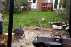 Before Garden Landscape
