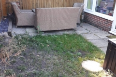 Before Patio was Laid